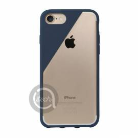 Coque Crystal iPhone 7/7 Bleue Marine