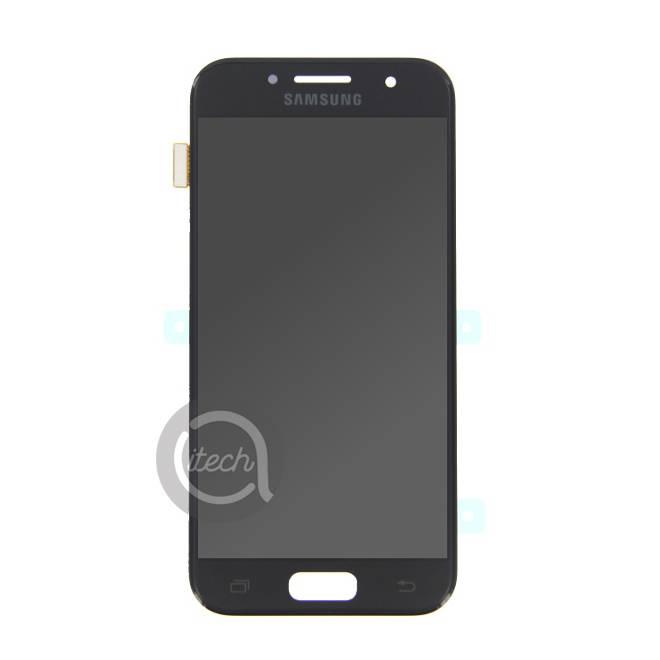 Ecran Noir Samsung Galaxy A3 2017