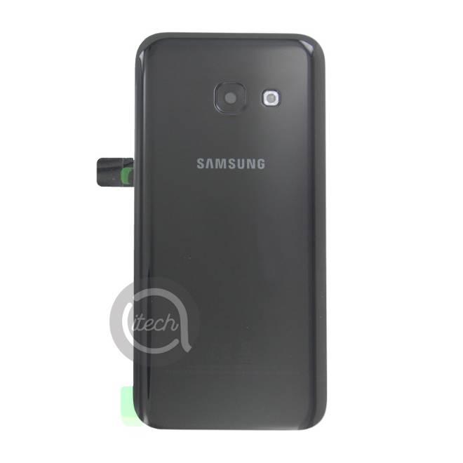 Vitre arrière originale Noire Samsung Galaxy A3 2017