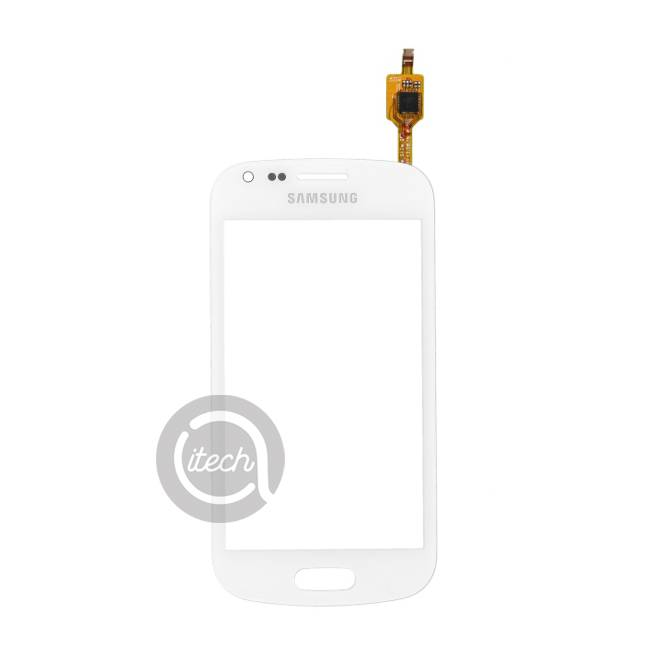 Vitre tactile Blanche Samsung Galaxy Trend