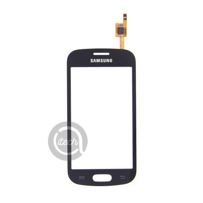 Vitre tactile Noire Samsung Galaxy Trend Lite