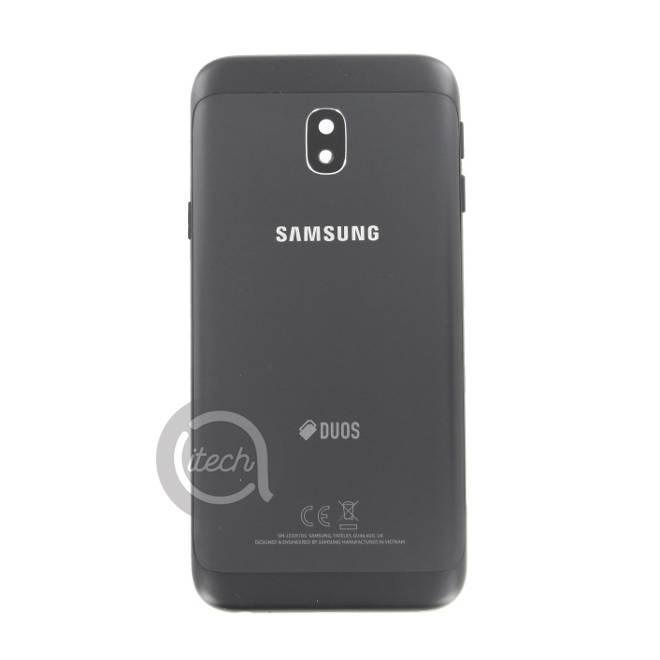 Coque arrière Noire Samsung Galaxy J3 2017