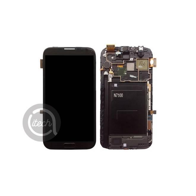 Ecran Noir Samsung Galaxy Note 2