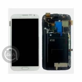 Ecran Blanc Samsung Galaxy Note 2