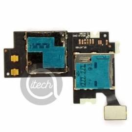 Nappe lecteur carte sim et MicroSD Galaxy Note 2