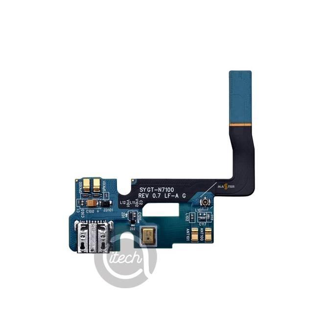 Nappe connecteur de charge Galaxy Note 2