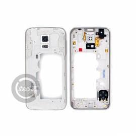 Châssis intermédiaire Blanc Galaxy S5 Mini