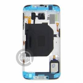 Châssis intermédiaire Blanc Galaxy S6