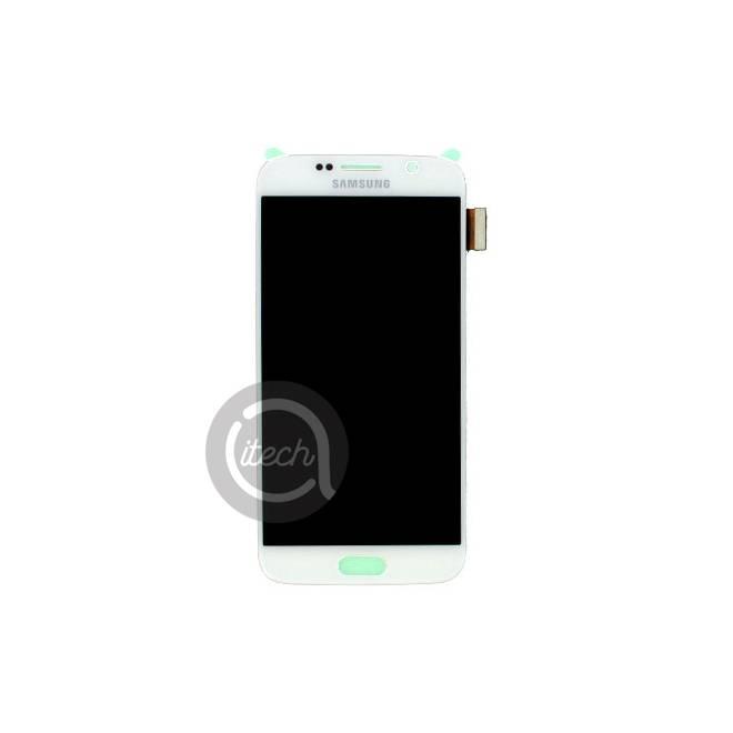 Ecran Blanc Samsung Galaxy S6