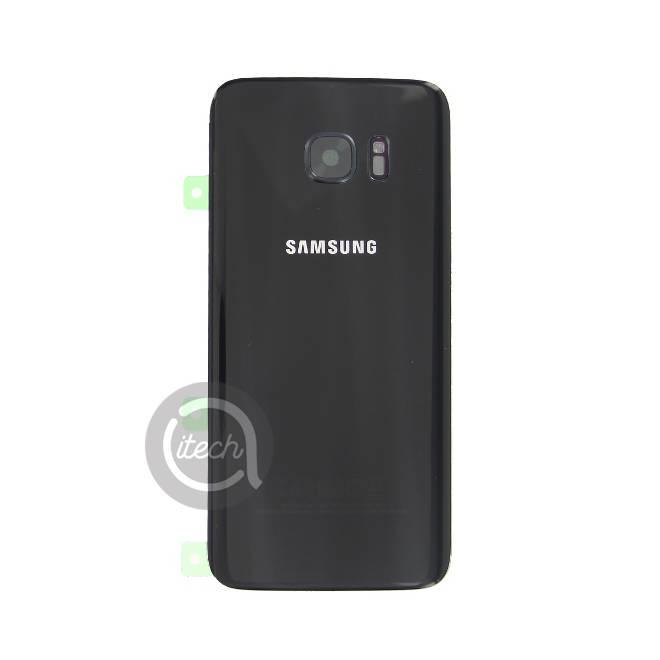 Vitre arrière originale Noire Samsung Galaxy S7 Edge