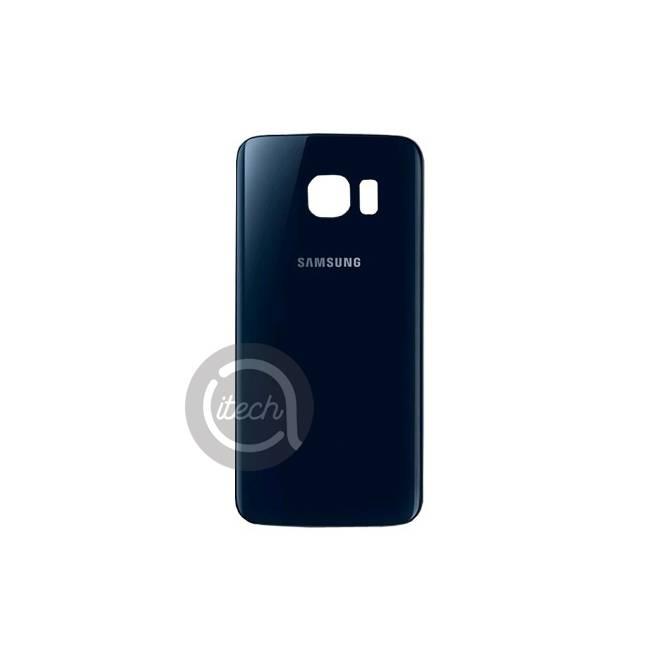 Vitre arrière originale Noire Samsung Galaxy S6 Edge