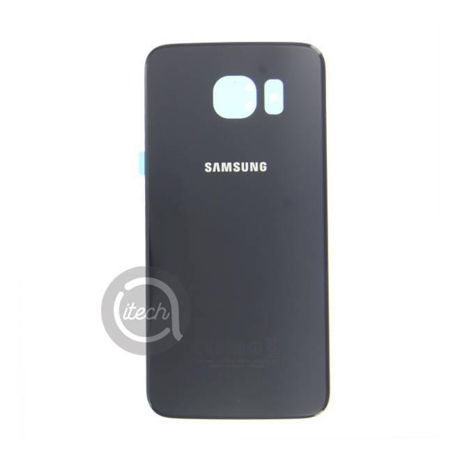 Vitre arrière originale Noire Samsung Galaxy S6
