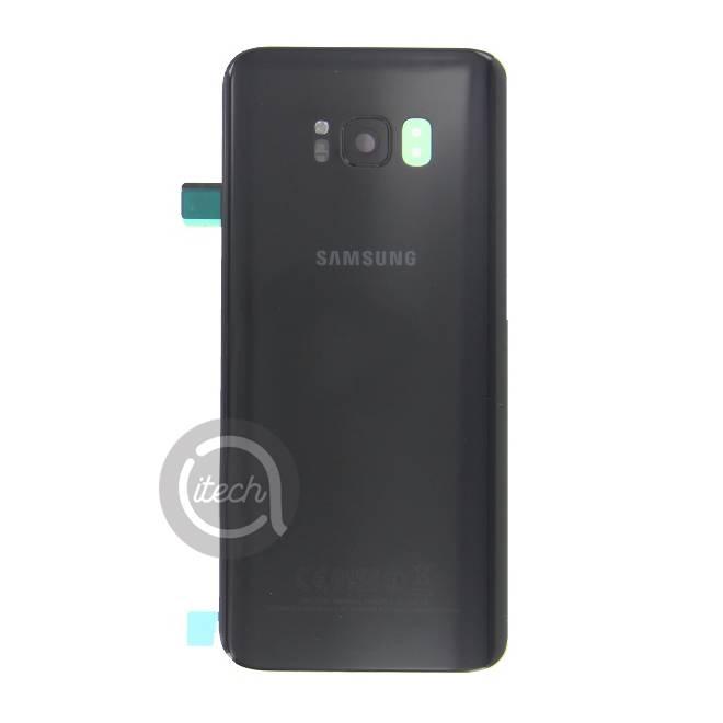 Vitre arrière originale Noire Samsung Galaxy S8