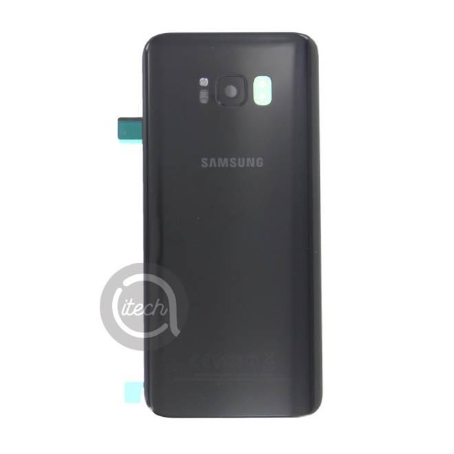 Vitre arrière originale Noire Samsung Galaxy S8+