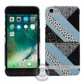 Coque So Seven collection Brooklyn Bleue iPhone 7/8