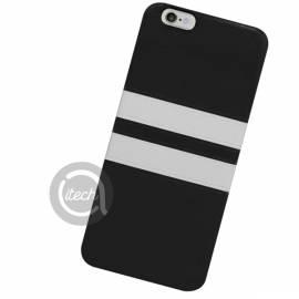 Coque Fantaisie Rayée Noire et Blanche IPhone 5/5S/SE