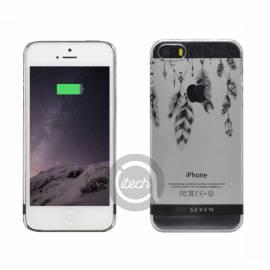 "Coque So Seven ""Plumes Incas"" iPhone 5/5S/SE"