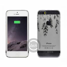 "Coque So Seven ""Plumes Incas"" iPhone 5/5S/SE"
