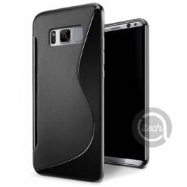 Coque silicone S Noire P8 Lite 2017