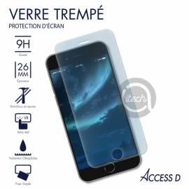 Verre trempé iPhone 5/5C/5S et SE