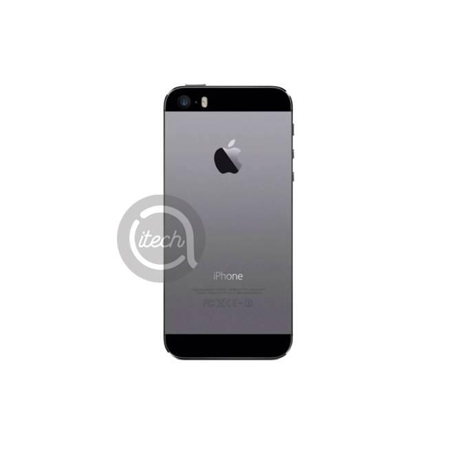 Chassis arrière Noir iPhone 5S