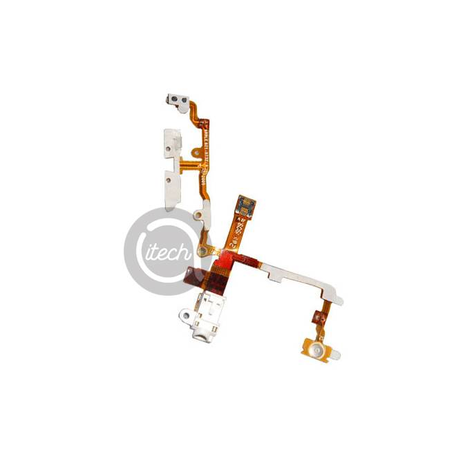 Nappe bouton Power, Volume, Vibreur iPhone 3GS