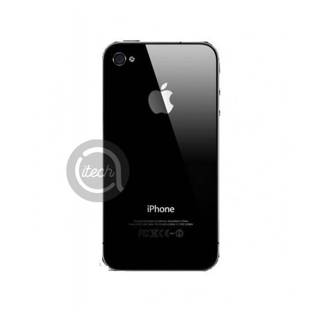 Vitre arrière Noire iPhone 4