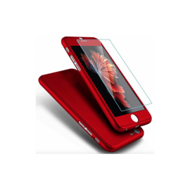 Coque 3 en 1 Rouge iPhone X