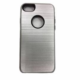 Coque renforcée Grise métallisée iPhone 7/8