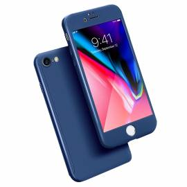 Coque 3 en 1 Bleue Marine iPhone 6 Plus/6S Plus