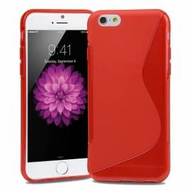 Coque silicone S Rouge iPhone X