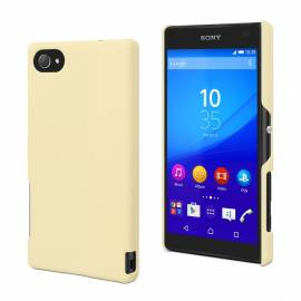 Coque soft touch Xperia Z5 compact Jaune