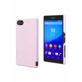 Coque soft touch Xperia Z5 compact Rose