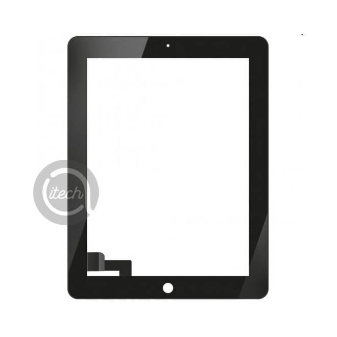Vitre tactile Noire iPad 2