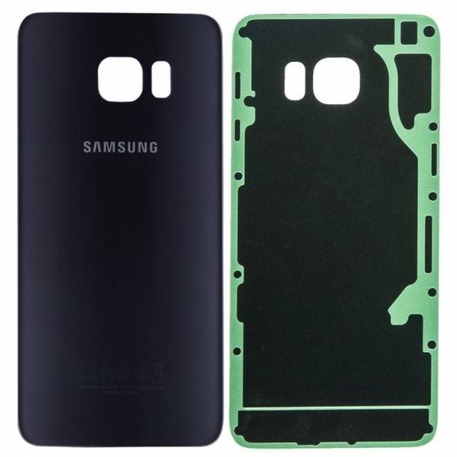 Vitre arrière originale Noire Galaxy S6 Edge+