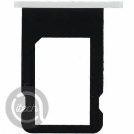 Tiroir carte sim blanc iPhone 5C