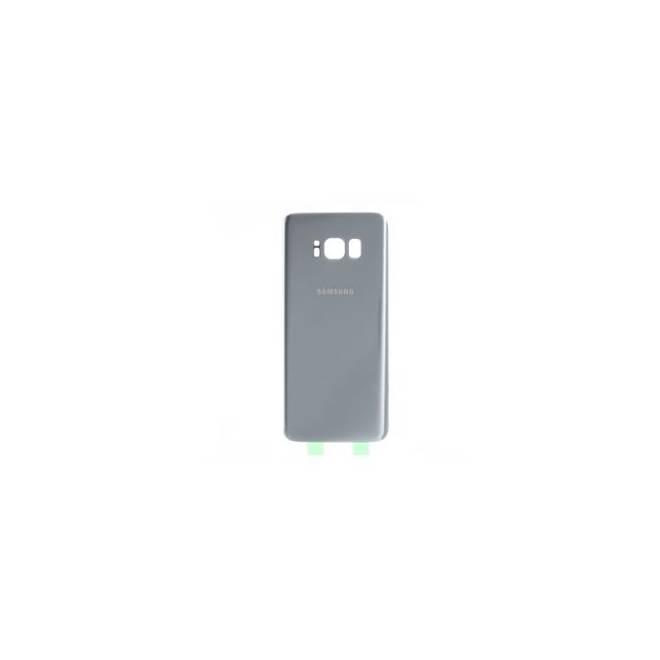 Vitre arrière compatible Argent Galaxy S8+