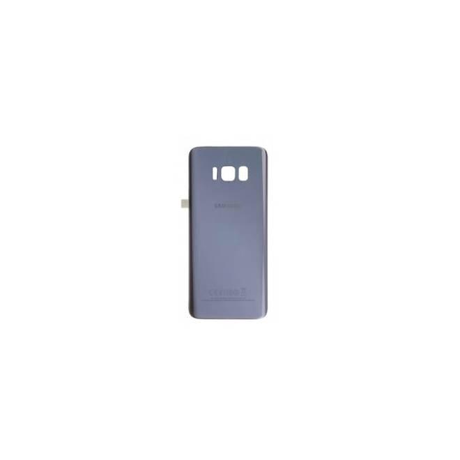 Vitre arrière compatible Orchidée Galaxy S8+