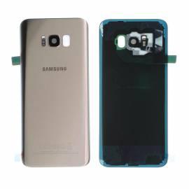 Vitre arrière originale Or Galaxy S8+