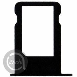 Tiroir carte sim Noire iPhone 5
