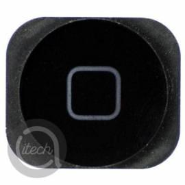Membrane bouton home noir iPhone 5