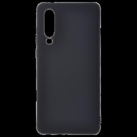 Coque soft touch Noire P30