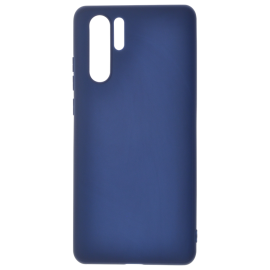 Coque soft touche Bleue P30 Pro