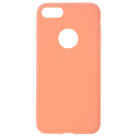 Coque soft touch Rose iPhone 7/7
