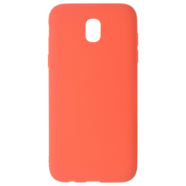 Coque soft touch Rouge J3 2017