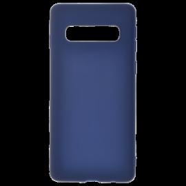 Coque soft touch Bleue S10 Plus