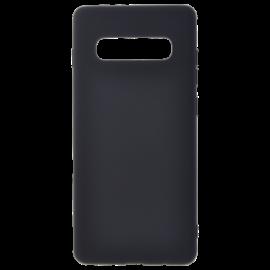 Coque soft touch Noire S10 Plus