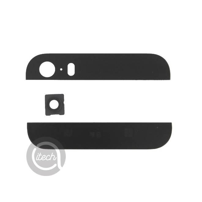 Vitres arrières Noires iPhone 5S/SE