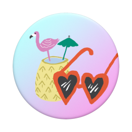 PopSockets Flamant Rose