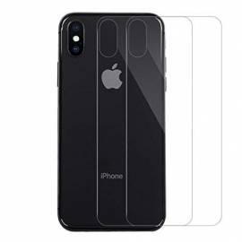 Verre trempé iPhone X/Xs pour vitre arrière